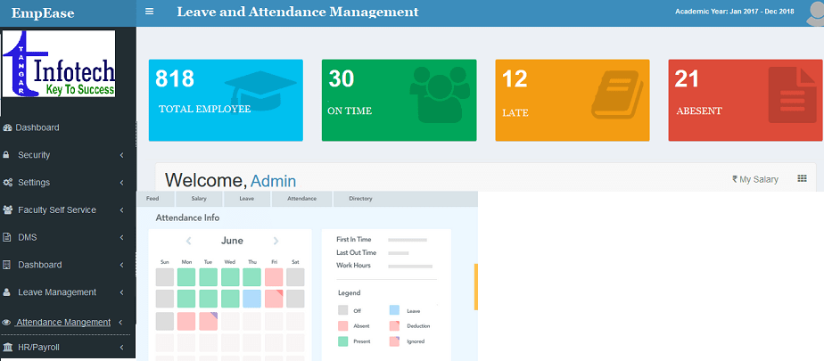 Leave and Attendance Management